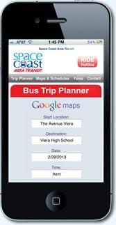Phone displaying SCAT website