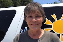 Volunteer Lynne Wallace