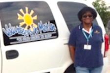 Volunteer Pam Barnes