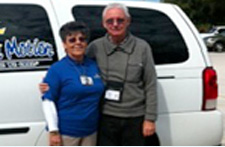 Volunteers Don and Marie Allen
