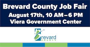 Brevard County Job Fair Notification