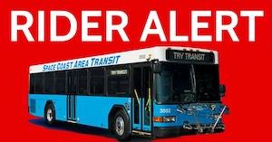 Rider Alert - Routes 22 & 23